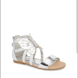 American Girl Shoes - Wellie Wishers Willa Flutter Metallic Sandal
